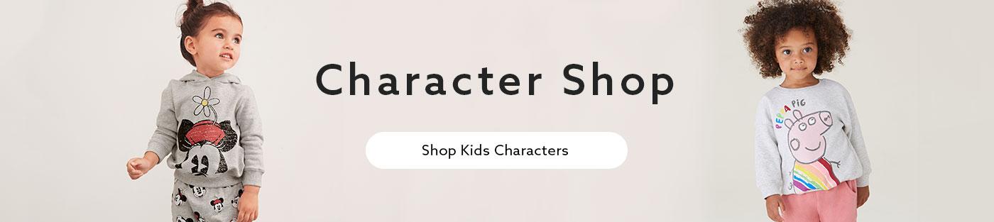 تسوق الشخصيات الكرتونية للأطفال